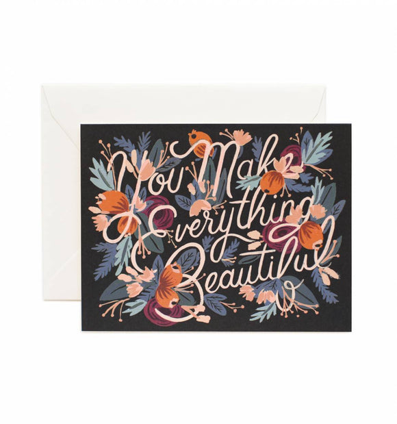 Everything Beautiful Card