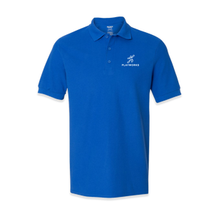 Playworks Blue Polo
