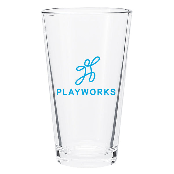 Playworks Pint Glass