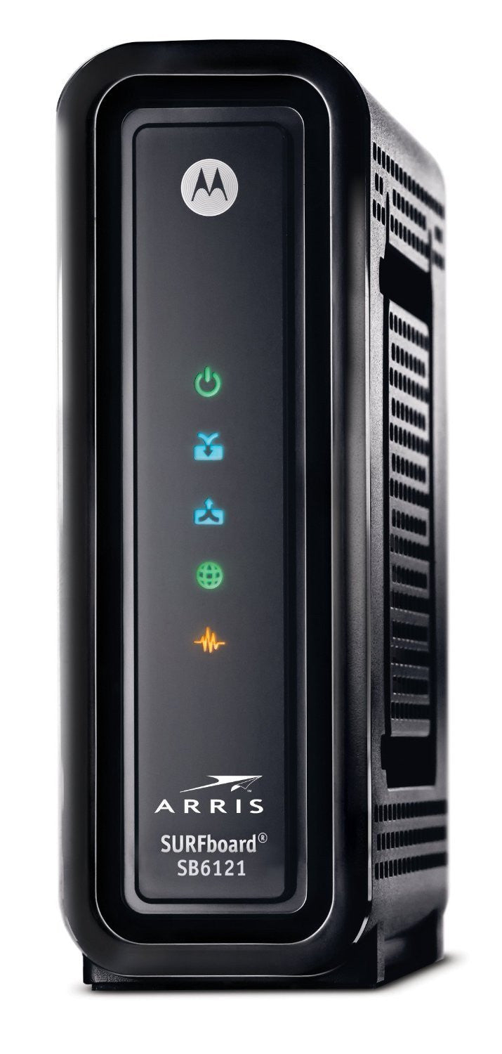 TWC approved router ARRIS/MOTOROLA SB6121 + NETGEAR WNR2000 PACKAGE - Buyapprovedmodems.com