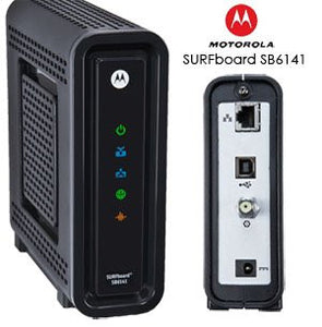 Motorla SB6141 Comcast approved modem