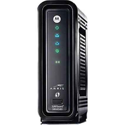 ARRIS/MOTOROLA SBG6580 WIRELESS Time Warner Approved Cable Modem - Buyapprovedmodems.com