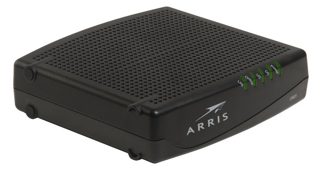 Time Warner Approved Cable Modem ARRIS CM820A + NETGEAR WNR2000 PACKAGE - Buyapprovedmodems.com