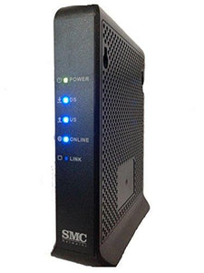 SMC NETWORKS D3CM1604 Modem (DOCSIS 3.0, 16x4 Channel Bonding) Approved for Time Warner Cable, Charter, Cox, Spectrum