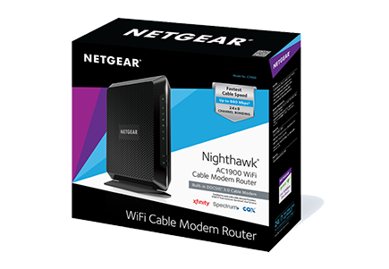Netgear C7000v2 Ac1900 Nighthawk Docsis 3 0 Cable Modem Router