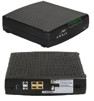 Comcast Compatible Modem Router >> Comcast Phone Modem Xfinity Approved Arris TG862g EMTA