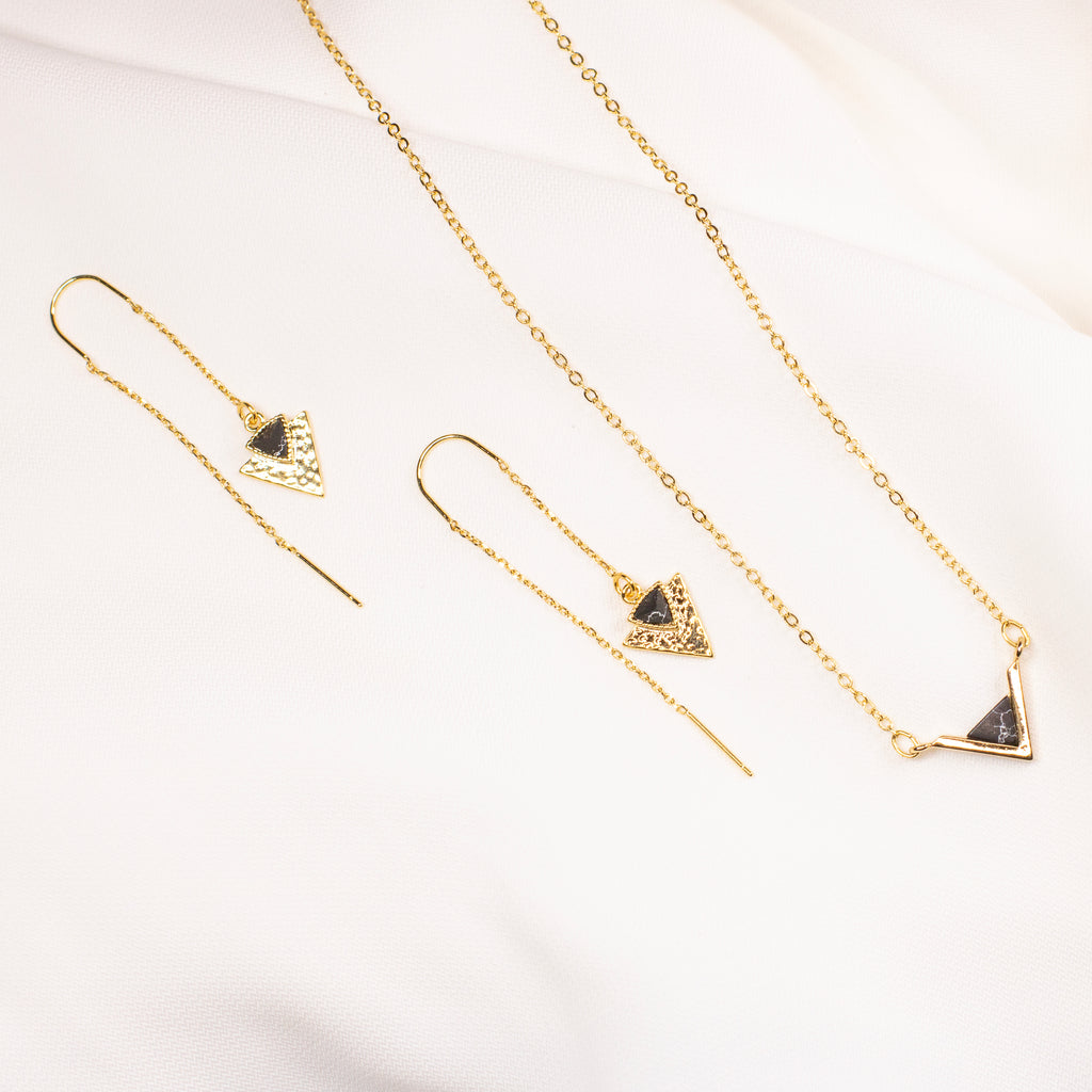 Anastasia Earring + Necklace Set