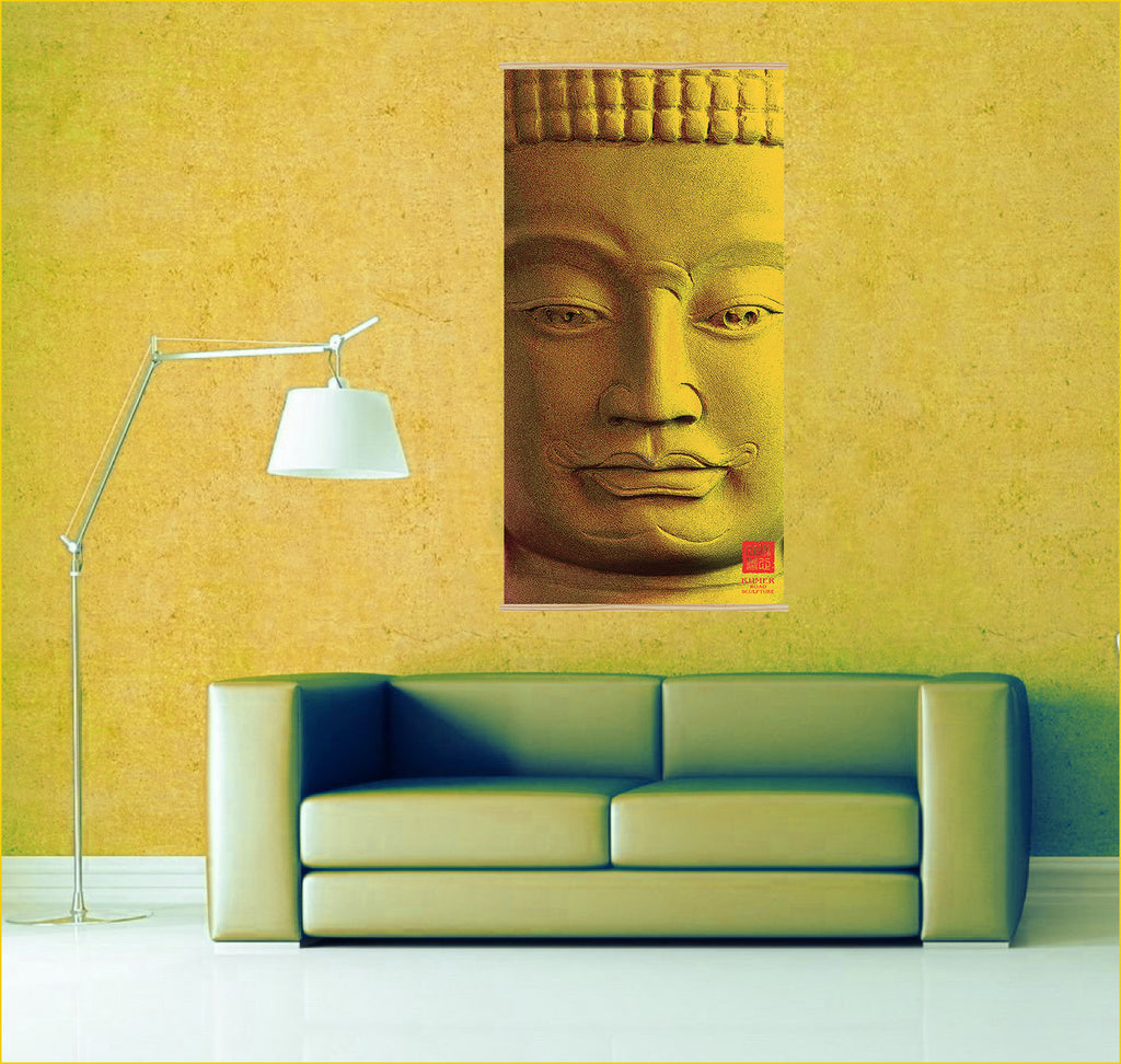 Buddhism posters in California - Khmer Road Sculpture