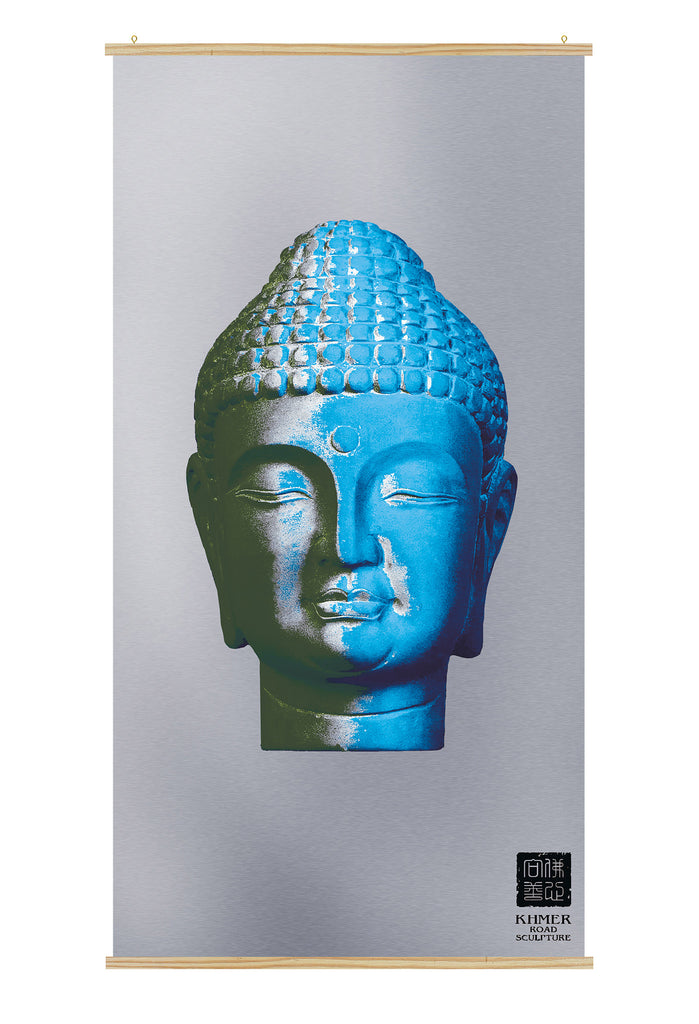 buddha face poster