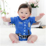 baby boys bodysuits baby Police baby boy clothes