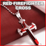 Firefighter Red Cross