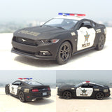 Set of 2 Brand New Ford Mustang GT Police Car Collector's Gift
