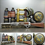 UNITED STATES MILITARY ARMY HERO PLAQUE SIGN DECORATION SCULPTURE