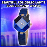 2017 STUNNING BLUE WATCH DIAMOND WATCH
