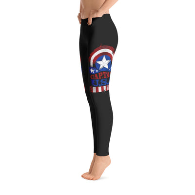 Patriotic Usa Leggings