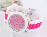 Beautiful Pink Breast Cancer Watch