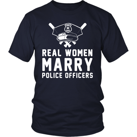REAL WOMEN MARRY POLICE OFFICERS