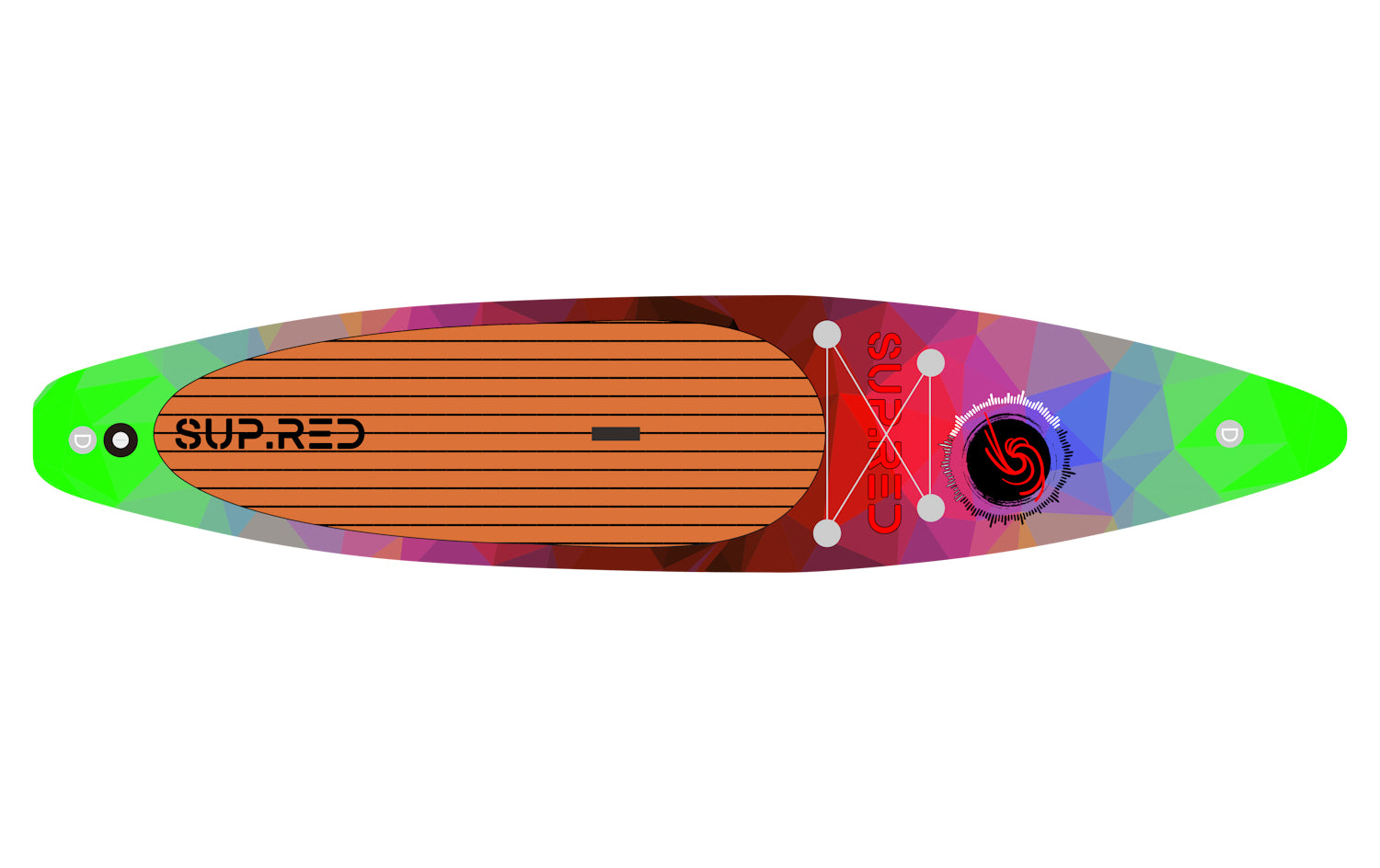 SUP.RED Paddleboard designed in NZ