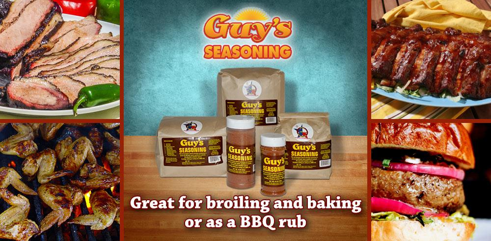 Guy's Seasoning product showcase