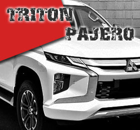 mitsubishi triton pajero sport moteray glx 2.4 did 2.5 3.0 exceed gls glx glx-r mn mq mr ml qe qf