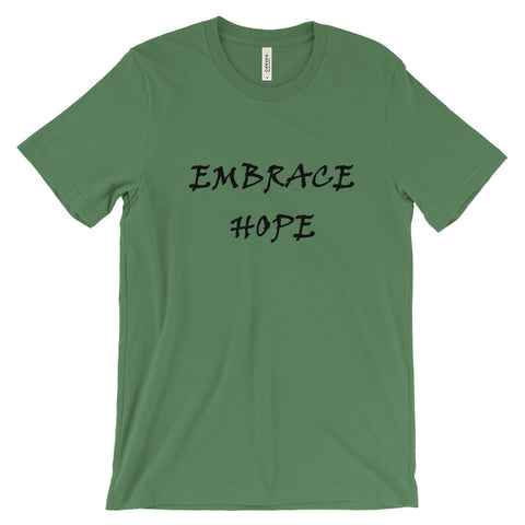 Embrace Hope short sleeve t-shirt (Black)