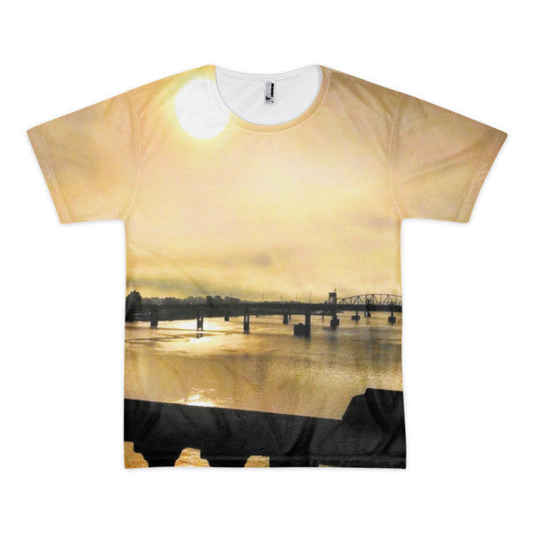 PH River Morning Short sleeve men's t-shirt (Front Only)