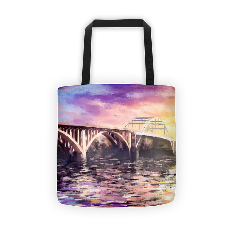 Broadway Bridge Tote bag