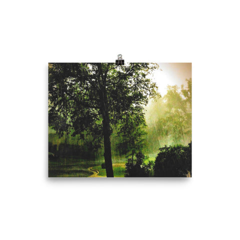 PH Rainy Day Tree Poster