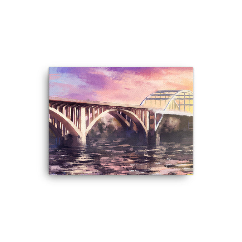Broadway Bridge Canvas