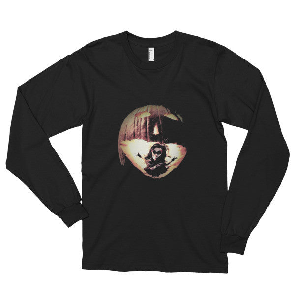 PH Jack--O Black Long sleeve t-shirt