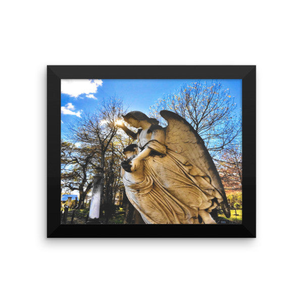 PH Angel Sun Framed photo paper poster