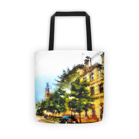 PH Rainy Day City Tote bag
