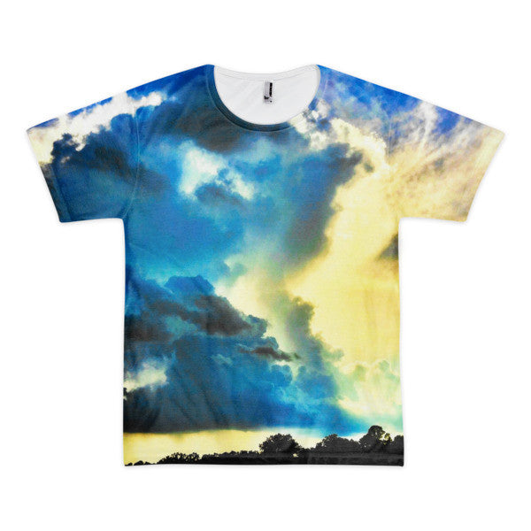 PH Clouds Short sleeve men's t-shirt (Front & Back)