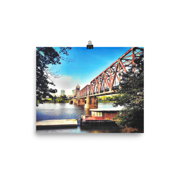 PH River Bridge Poster