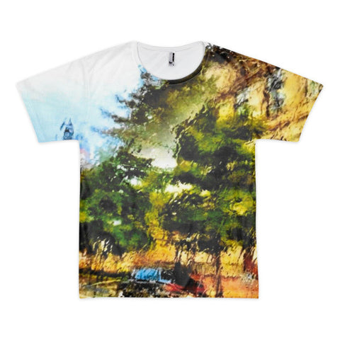 PH Rainy Day City Short sleeve men's t-shirt (Front Only)