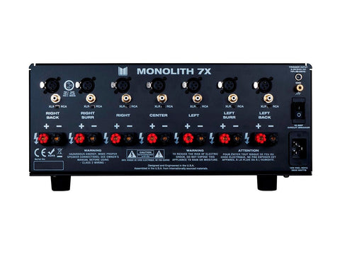 Monolith by Monoprice 7x200 Watts - Seven Channels Amp