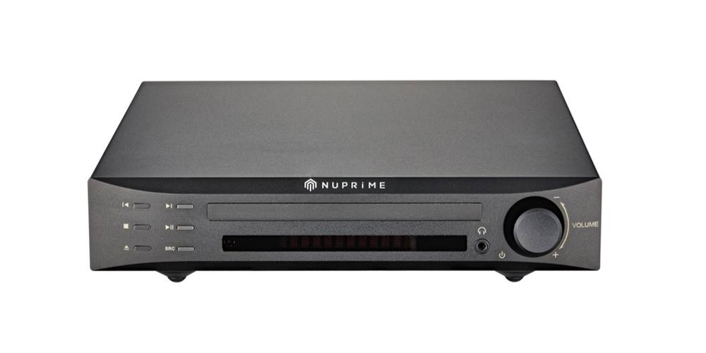 NuPrime CDP-9 CD Player With Integrated High-End DAC & Preamp