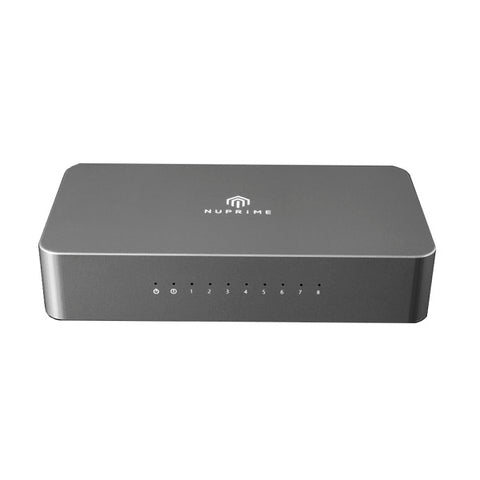 NuPrime Omnia SW-8 Network Switch - Summit Hi-Fi