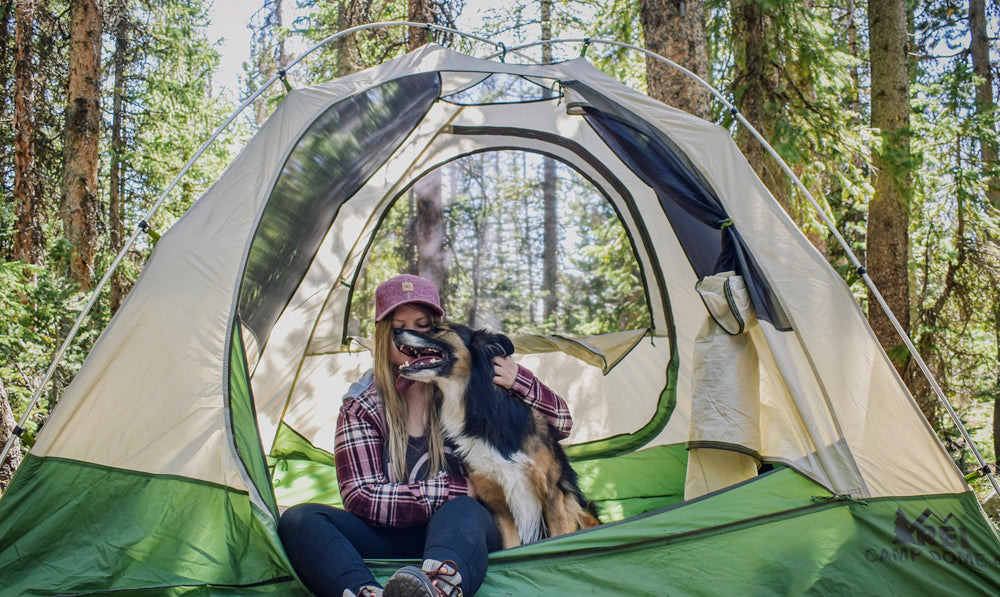 Solo Camping: Just a Woman + Her Dog