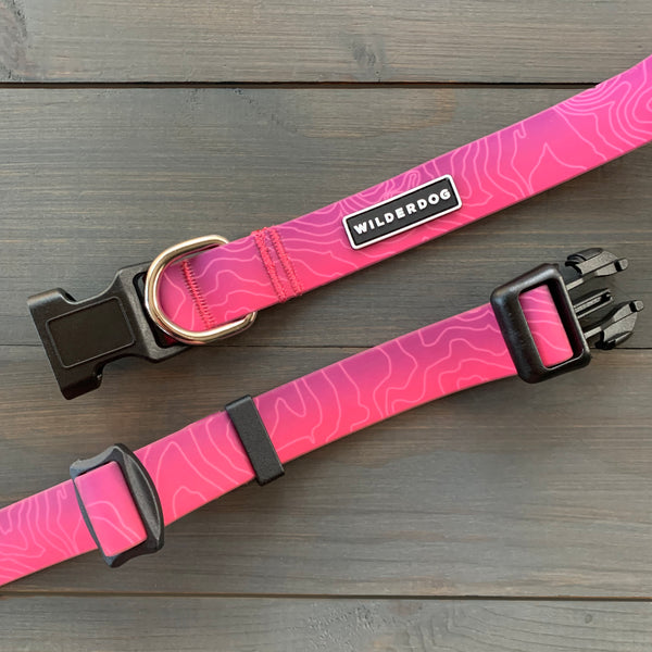 Plum Waterproof Collar
