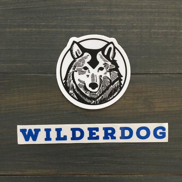 Wilderdog Sticker Decals