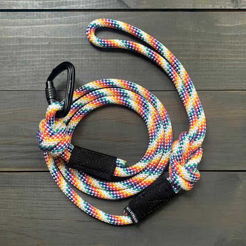 Rainbow Small Carabiner Leash