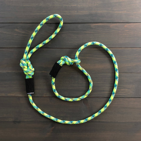 Lime Reflective Slip Lead
