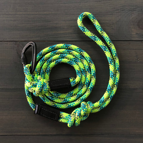 Lime Reflective Small Carabiner Leash