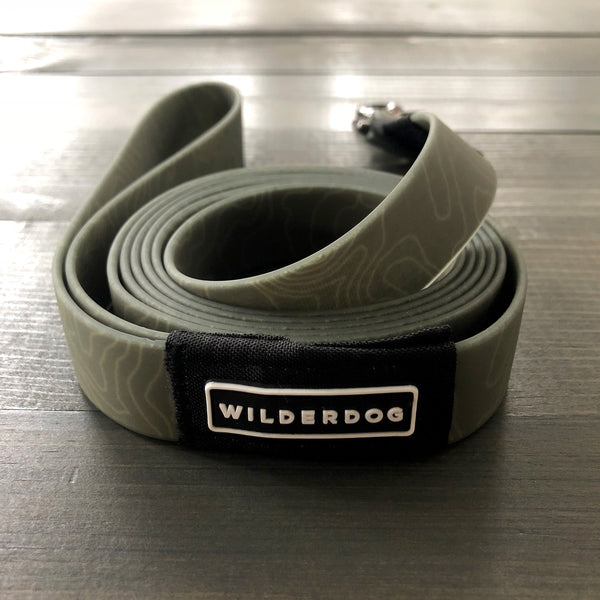 Olive Waterproof Leash