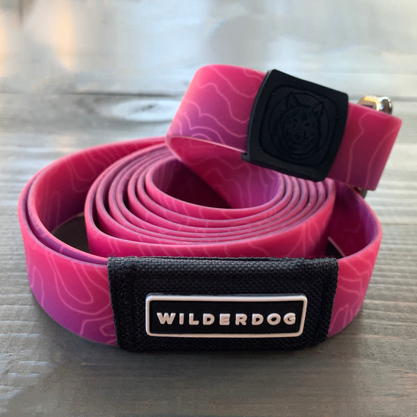 Plum Waterproof Leash
