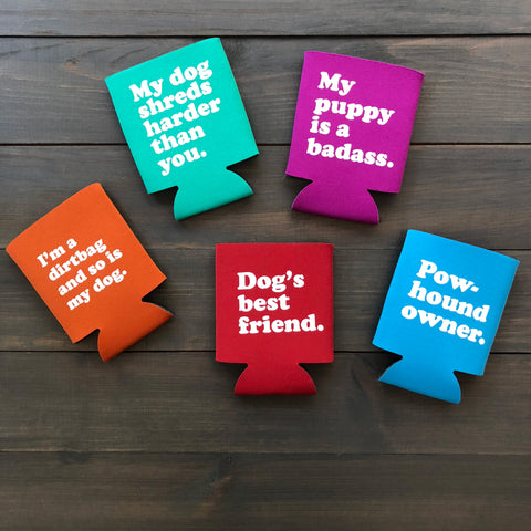 Party Dog Koozies