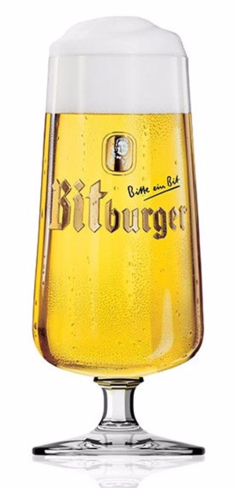 Bitburger Pils Beer Glasses - Set of 2