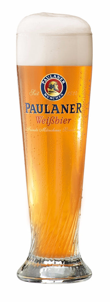 Paulaner Weiss Beer Glasses - Set of 2
