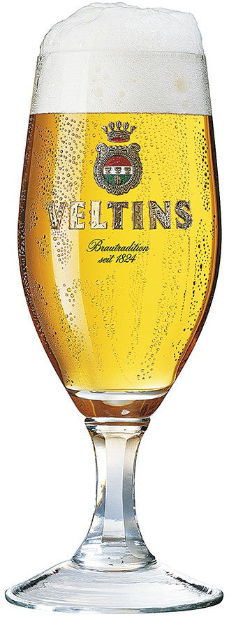 Veltins Pilsner Beer Glasses - Set of 2